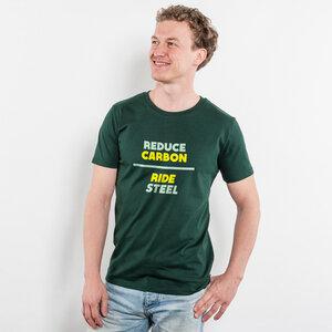 Simon Becker – Reduce Carbon - Mens Low Carbon Organic Cotton T-Shirt - Nikkifaktur