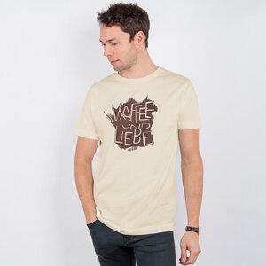 Lukas Adolphi - Kaffee und Liebe - Organic Cotton T-Shirt - Nikkifaktur