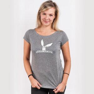Rabbit Revolution – Animal Liberation - Ladies Organic Modal T-Shirt - Nikkifaktur