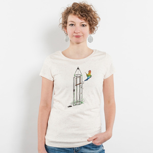 Robert Richter – Freedom for All - Ladies Organic Cotton T-Shirt - Nikkifaktur