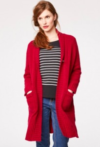 CHEPSTOW ORGANIC WOOL JACKET - Ruby - Thought | Braintree