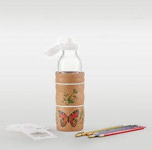 Trinkflasche LAGOENA 0,5 l mit Korkummantelung Kids - Nature´s Design