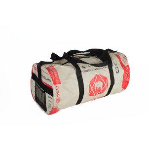 Sporttasche CementBag Größe XL aus Zement-/ Fischfutter-/ Reissack - Upcycling Deluxe