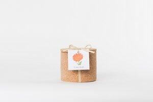 Grow Kork Calendula im  Blumen Korktopf  - Life in a bag