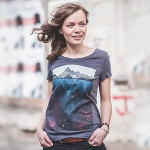 Kopfstein – Feuer - Ladies Organic Cotton T-Shirt - Nikkifaktur