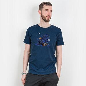 Robert Richter – Movie Break - Mens Low Carbon Organic Cotton T-Shirt - Nikkifaktur