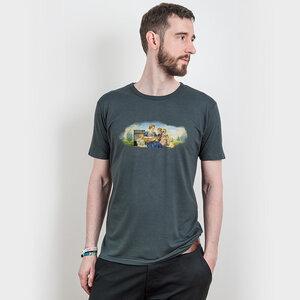 Brüman Romig – We are Family - Mens Low Carbon Organic Cotton T-Shirt - Nikkifaktur