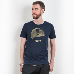 Douze – Fu Manchu - Mens Low Carbon Organic Cotton T-Shirt - Nikkifaktur