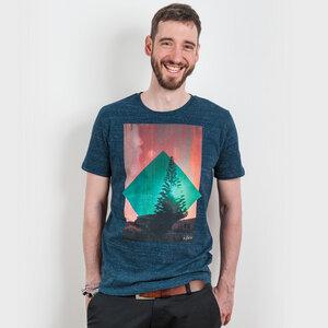 icificis – Waihi - Mens Organic Cotton T-Shirt - Nikkifaktur