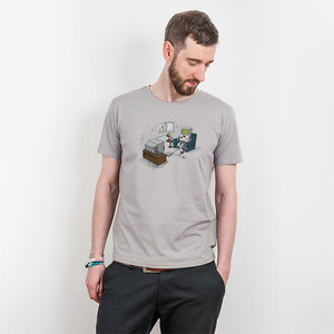 Robert Richter – Computer Love - Mens Low Carbon Organic Cotton T - Nikkifaktur