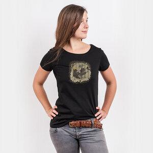 Robert Richter – Forestal Sounds - Ladies Low Carbon Organic Cotton T - Nikkifaktur