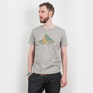 Robert Richter – Game Legends - Mens Low Carbon Organic Cotton T-Shirt - Nikkifaktur