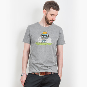Robert Richter – Oldschool Music - Mens Low Carbon Organic Cotton T - Nikkifaktur