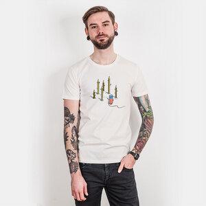 Robert Richter – Pencil Culture - Mens Low Carbon Organic Cotton T - Nikkifaktur