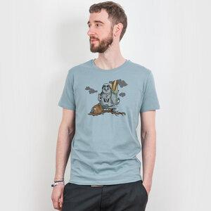 Robert Richter – Traveler - Mens Organic Cotton T-Shirt - Nikkifaktur