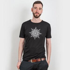 ruestungsschmie.de – Snowflake - Mens Low Carbon Organic Cotton T - Nikkifaktur