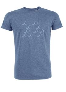 Herren T-Shirt 'ASCII Segler' - University of Soul