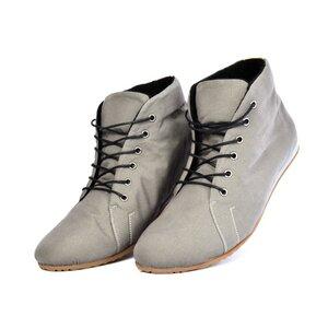 '66 veganer Sneaker aus Bio-Baumwolle Grey - SORBAS