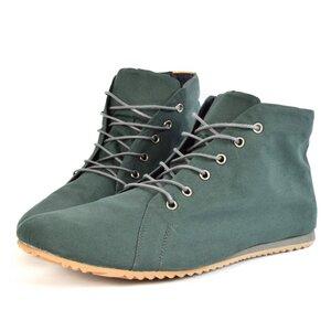 '66 veganer Sneaker aus Bio-Baumwolle Pine Green - SORBAS