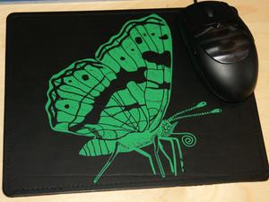 'Landkärtchen' Mousepad - shop handgedruckt