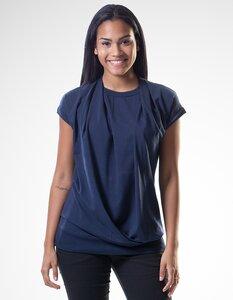 Emma T-Shirt/ 0072 Eukalyptus & Bio-Baumwolle/ Minimal - Re-Bello