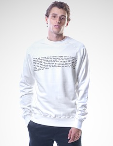 Paolo Sweater/ 0001 Bio-Baumwolle/ TWK - Re-Bello