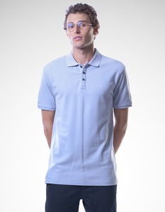 Denis Polo T-Shirt/ 0086 Bio-Baumwolle / Minimal - Re-Bello