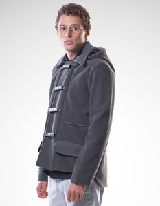 Guido Jacket/ 0015 Upcycled Wool/ Minimal - Re-Bello
