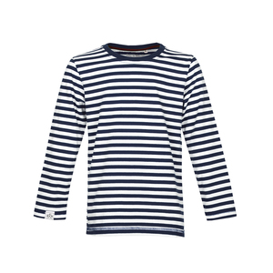 Stripe Longsleeve (Navy Off-White) - Band of Rascals