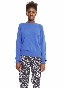 Cici Lambswool Sweater - Adriatic Blue - Maska