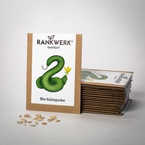 Bio Salatgurke Saatgut - Rankwerk