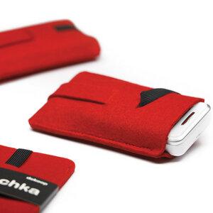 iPhone 5 und iPod-touch Hülle BABUSCHKA aus Filz - Dekoop