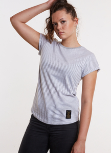 Elements Stripe Shirt GREY - merijula