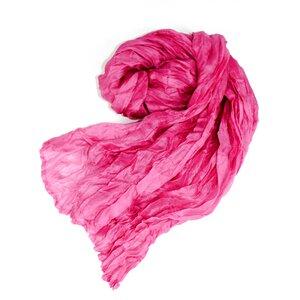 Seidenschal Crinkle pink - Schönes aus Indochina