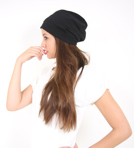 Mütze schwarz - Lena Schokolade