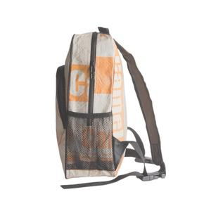 Eckiger Rucksack aus Zementsack - Upcycling Deluxe