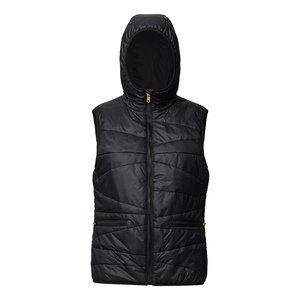 ThokkThokk TT2002 Light Kapok Vest Woman Black PETA-Approved Vegan - THOKKTHOKK