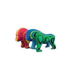 Tierfigur 'Gorilla'  - aus FlipFlop - Ocean Sole