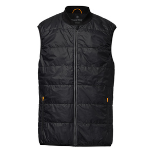 ThokkThokk TT2005 Light Kapok Vest Man Black PETA-Approved Vegan - THOKKTHOKK