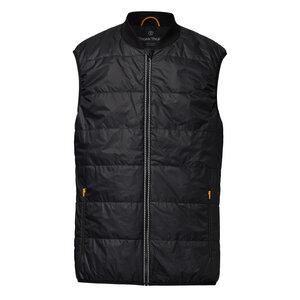 ThokkThokk TT2005 Light Kapok Vest Man Black PETA-Approved Vegan - THOKKTHOKK