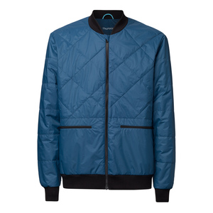 ThokkThokk TT2004 Light Kapok Blouson Man Blue PETA-Approved Vegan - THOKKTHOKK