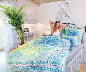 Bettwäsche Faszination Blue Dream, div. Größen - The Spirit of OM