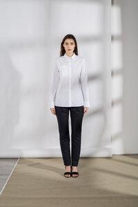 Weißes Popelinehemd - Mila.Vert