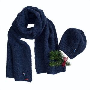 Mütze-Schal Set ZARAH aus organic Wool mit Lucky Doll - meinfrollein