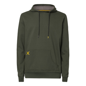ThokkThokk TT1024 Hooded Sweater Moss /Cross Man - THOKKTHOKK