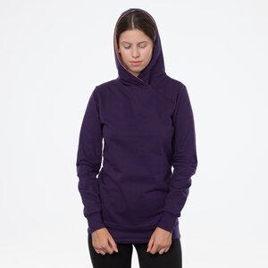 ThokkThokk TT1026 Cross Hoodie Eggplant Woman - THOKKTHOKK