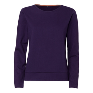 ThokkThokk TT1027 Box Sweater Eggplant Woman - THOKKTHOKK