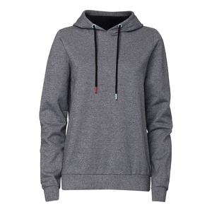 TT1028 Hooded Sweater Salt&Pepper/Black Woman - THOKKTHOKK
