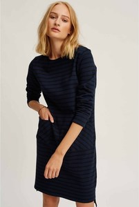 Harper Stripe Tunic Navy - People Tree