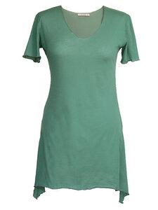 BUTTERFLY T-Shirt - türkis - woodlike